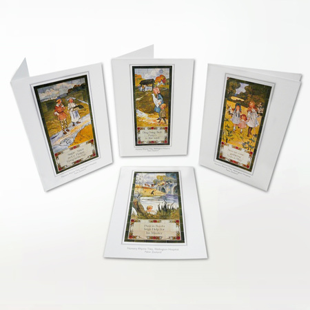 Royal Doulton Tile Card Set