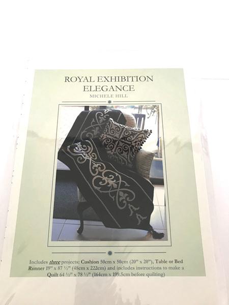 Royal Exhibition Elegance Applique Pattern