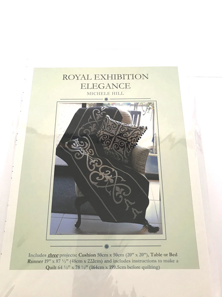 Royal Exhibition Elegance Applique Pattern