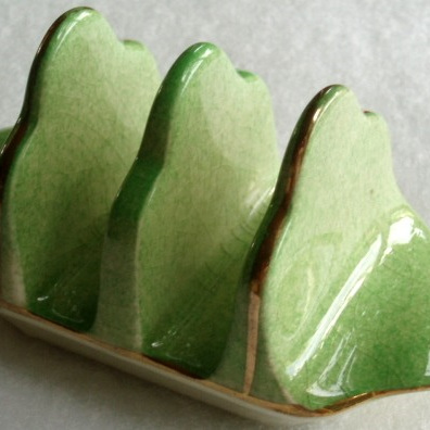 Royal Winton - green toast rack