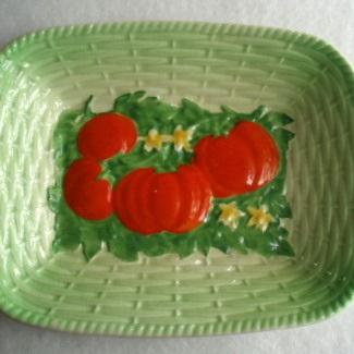 Royal Winton - square basket dish
