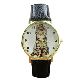 ROYALTY CAT WATCH (4 COLOUR OPTIONS)