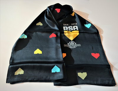 RSA Black Centennial Scarf