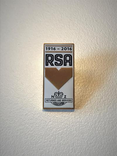 RSA Centenary Pin (100 Yrs)