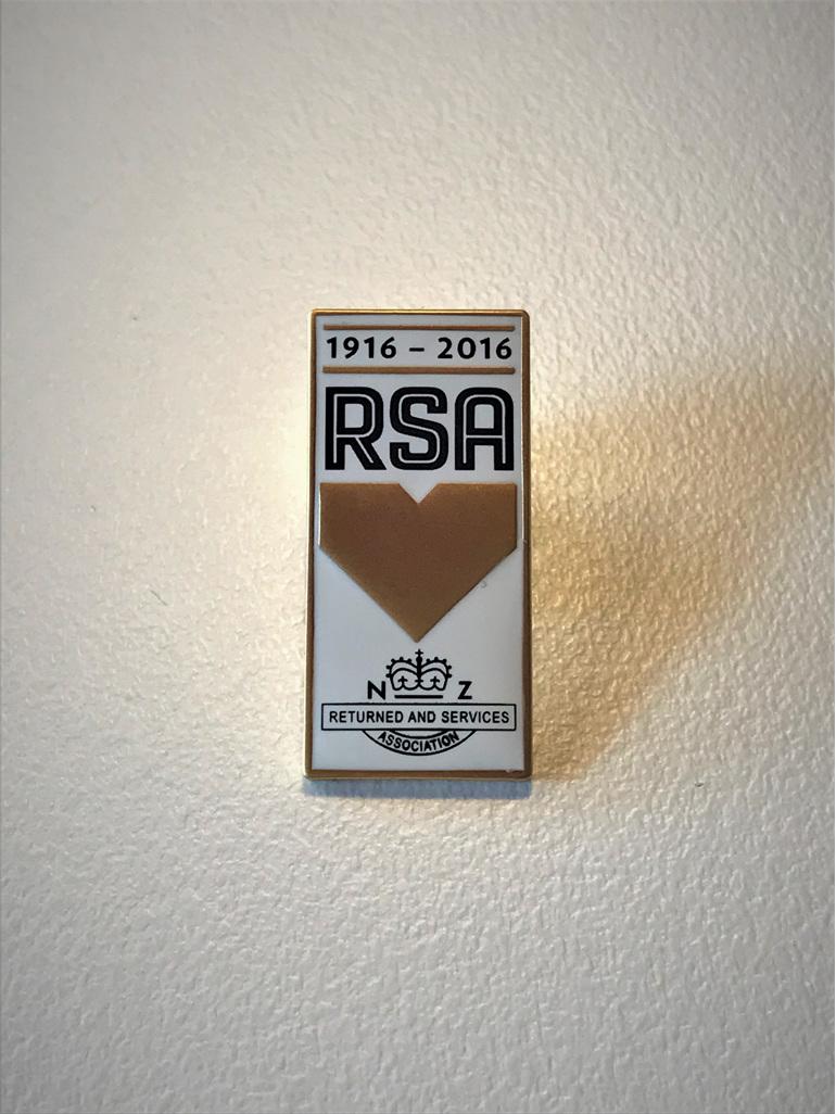 RSA Centenary Pin