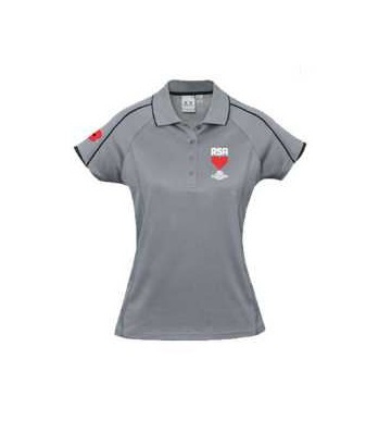 RSA Ladies Silver Polo