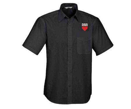 RSA Mens Short Sleeve Shirt (New Design)