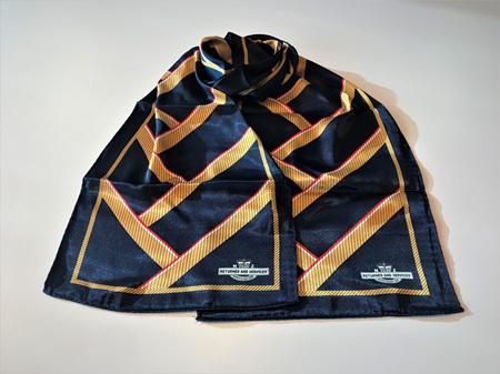 RSA Navy Silk Scarf