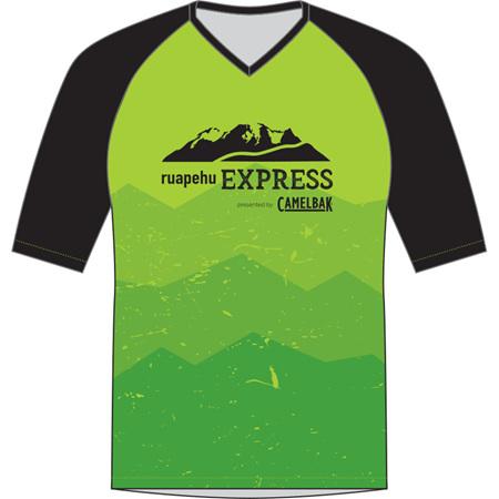 Ruapehu Express Kids' MTB Jersey