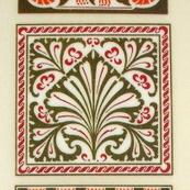 Rub-On Craft Transfers - Art Nouveau Designs