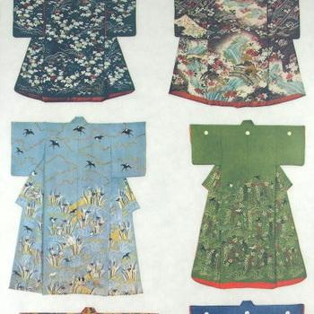 Rub-On Craft Transfers - Pretty Kimono