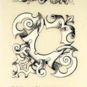 Rub-On Craft Transfers - Victorian Scrolls
