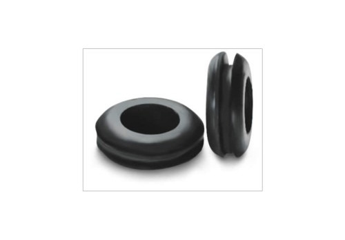Rubber grommet for airlock