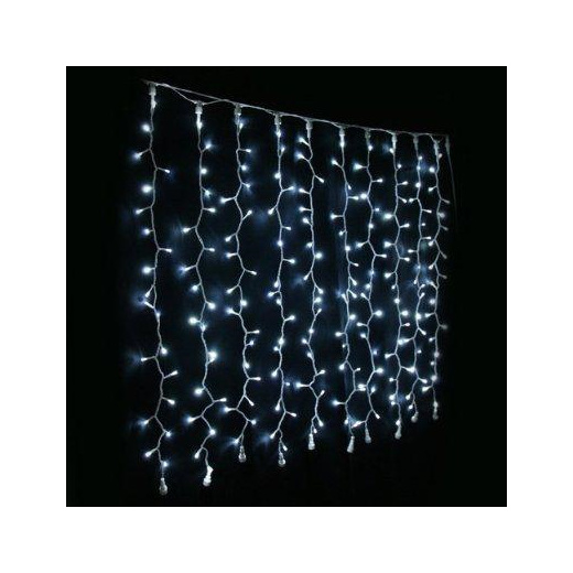 Outdoor Rubber Wire Connectable 3x3m 600leds Curtain