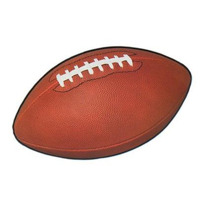 Rugby Ball Cutout Brown