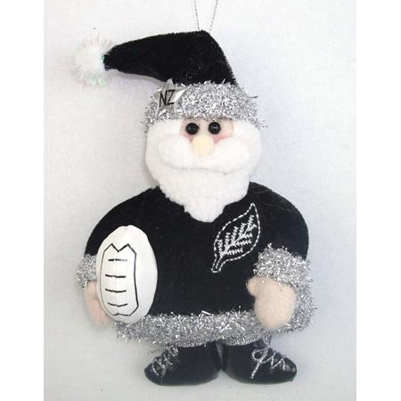 Rugby Santa Christmas decoration