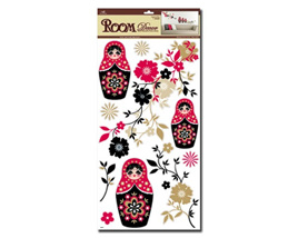 Russian Doll Wall Decals