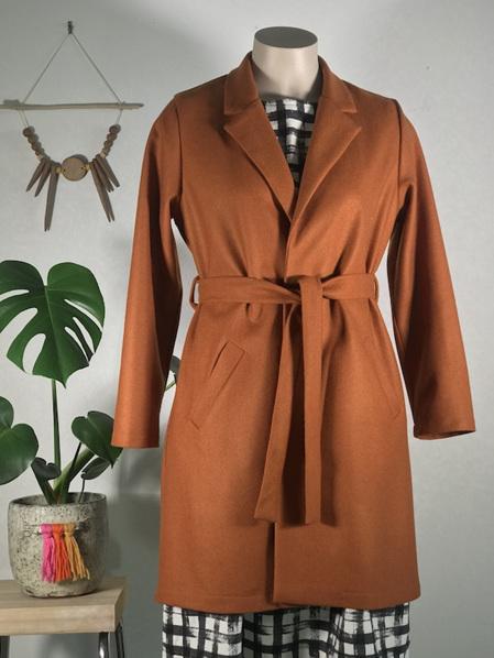 Rust Aurora Coat