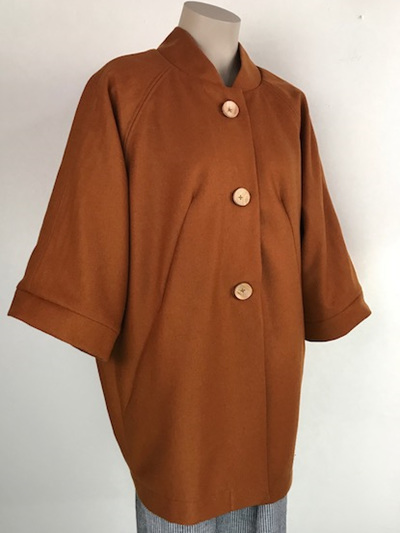 Rust Kimono Coat