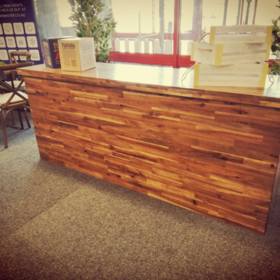 Rustic Bar Counter