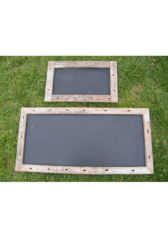 Rustic Blackboards without Stake wedding and event hire