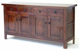 Gamekeeper Sideboard - Four Door