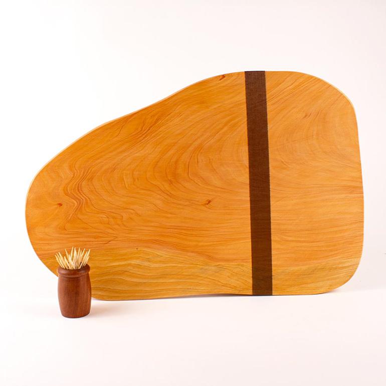 Rustic natural edge board 439