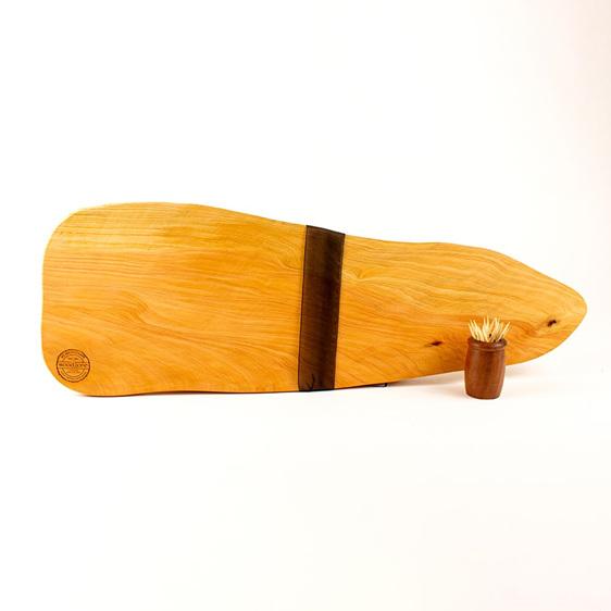 Rustic natural edge board 440