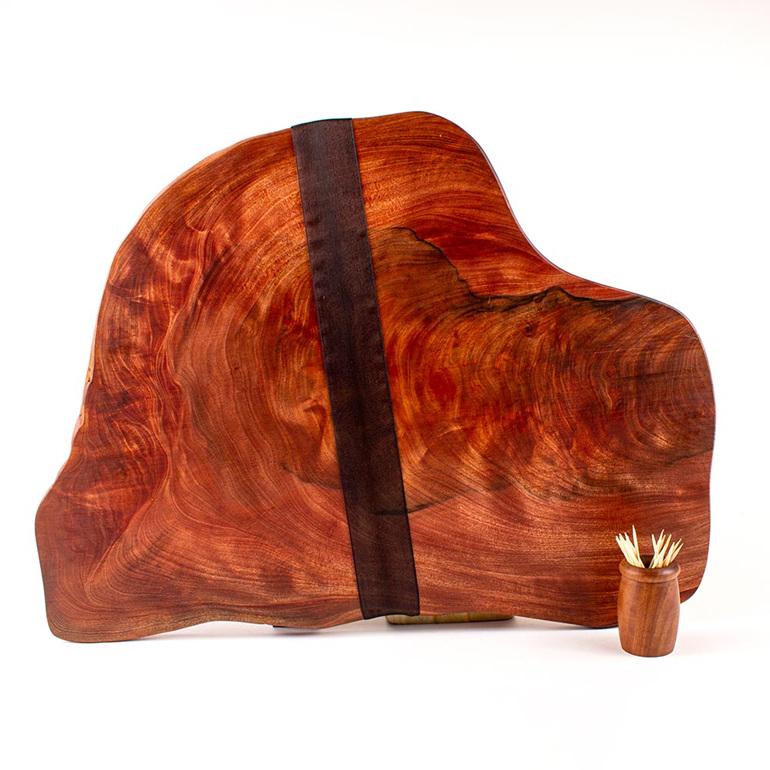 Rustic natural edge board 450