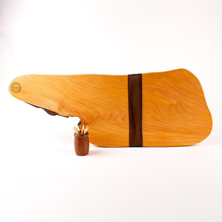 Rustic natural edge board 461