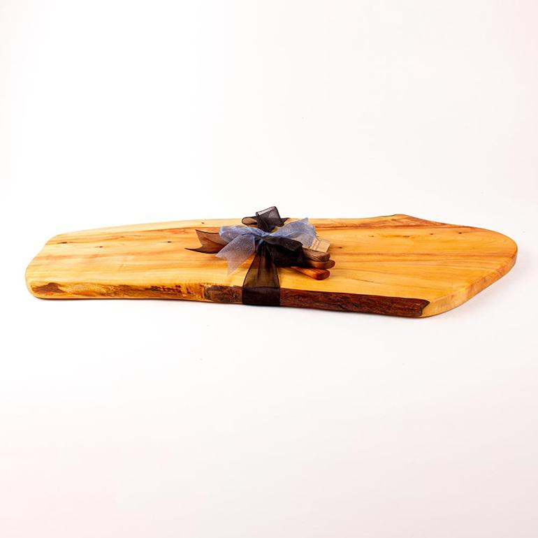 rustic natural edge board 466
