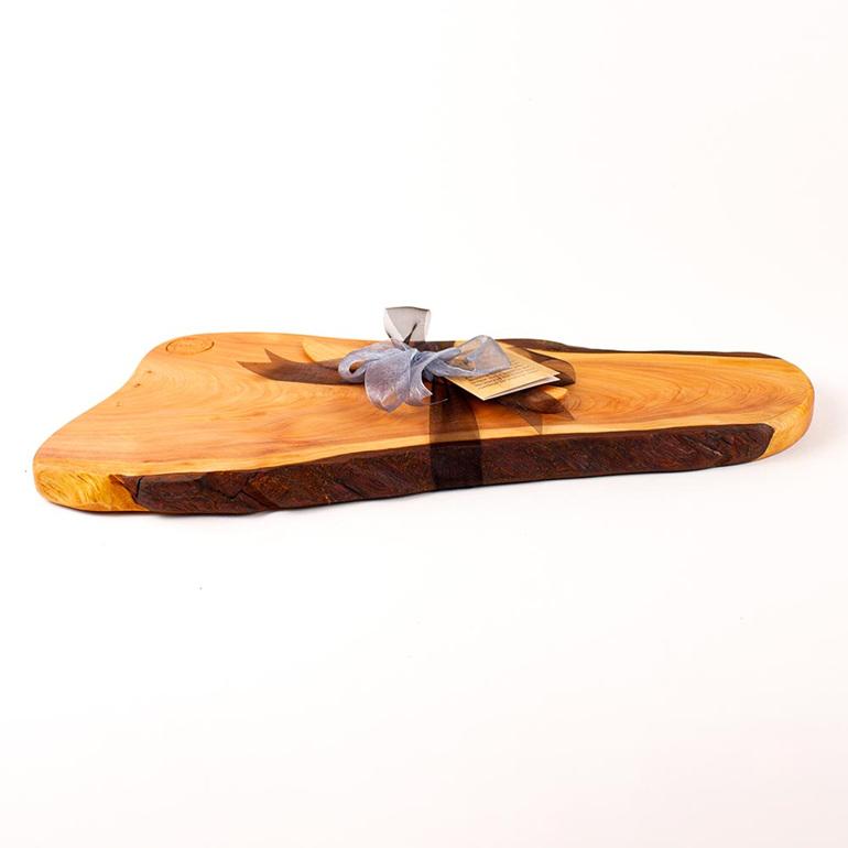 rustic natural edge board 471