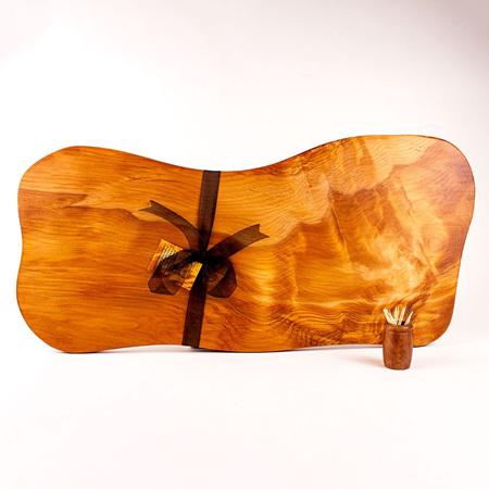 Rustic Natural Edge Board 550