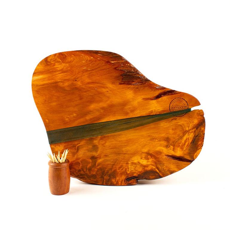 rustic natural edge board ancient kauri - 485