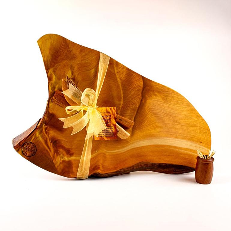 rustic natural edge board ancient kauri - 492