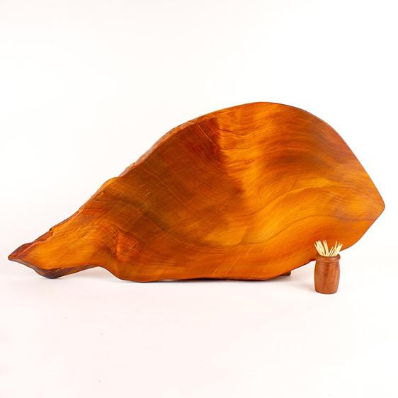 rustic natural edge board - ancient kauri