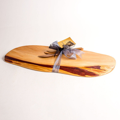 Rustic Natural Edge Board and Knife Set 251