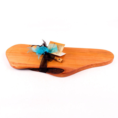 Rustic Natural Edge Board and Knife Set 253