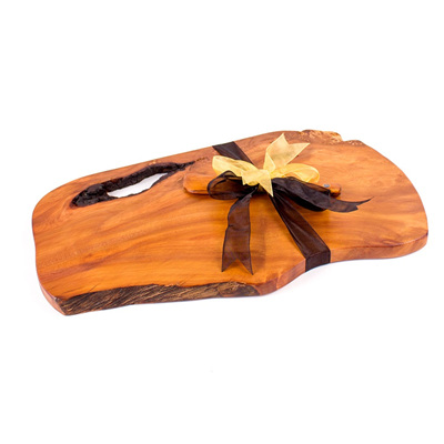 Rustic Natural Edge Board and Knife Set 299