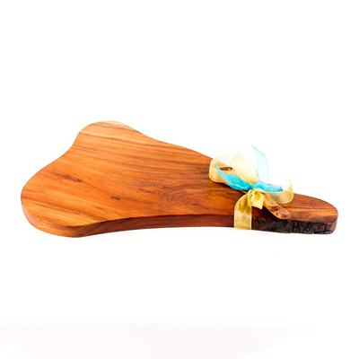 Rustic Natural Edge Board and Knife Set 312