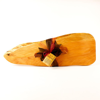 Rustic Natural Edge Board and Knife Set 440