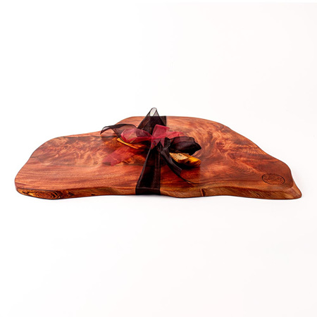 Rustic Natural Edge Board and Knife Set 450