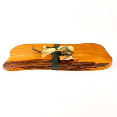 Rustic Natural Edge Board and Knife Set 479