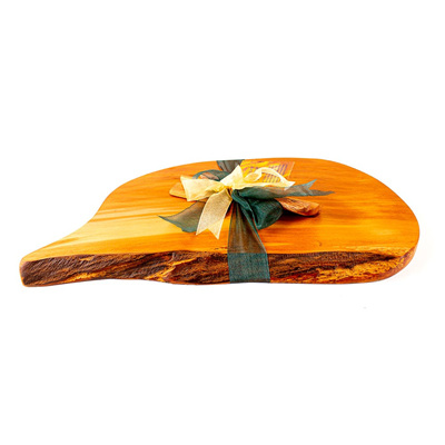 Rustic Natural Edge Board and Knife Set 480