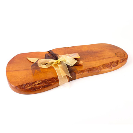 Rustic Natural Edge Board and Knife Set 510