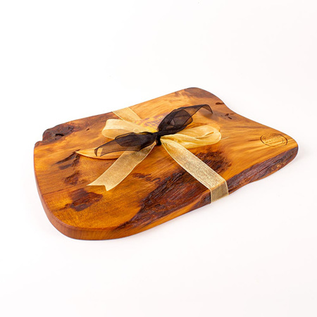 Rustic Natural Edge Board and Knife Set 511