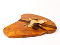 Rustic Natural Edge Board and Knife Set 513
