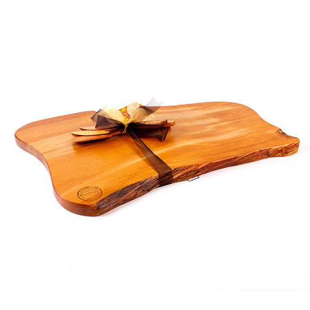 Rustic Natural Edge Board and Knife Set 526