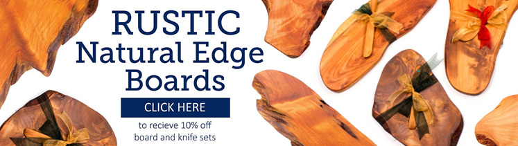 Rustic Natural Edge Boards