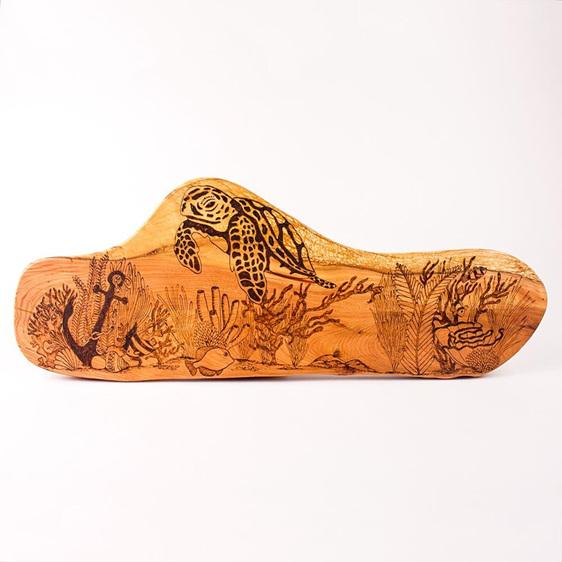 Rustic Wall Art - Turtle